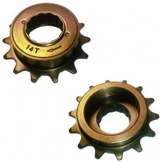 "14T 34mm 1/2""x1/8"" Freewheel Cog Sprocket BROWN"