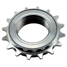 "16T 34mm 1/2""x1/8"" Freewheel Cog Sprocket SILVER"