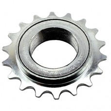 "18T 34mm 1/2""x1/8"" Freewheel Cog Sprocket SILVER"
