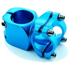 25.4mm Diameter Blue 40mm BMX Stem