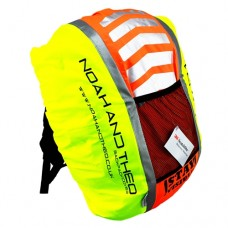 STAY VISIBLE Backpack Rucksack Pannier Waterproof High Visible Cover