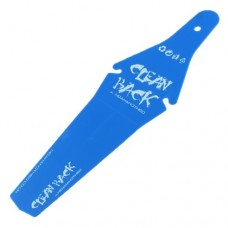 CLEAN BACK Rear Foldable Fender Mudguard BLUE
